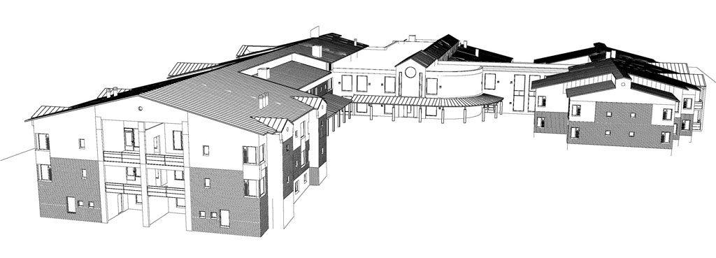 Kivipuiston Palvelukotisäätiön rakennussuunnitelma